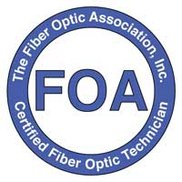 FAO (Fiber Optic Association) Logo
